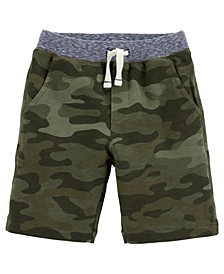 Bigs Boys Camo Pull-On French Terry Shorts