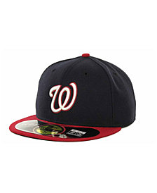 New Era Washington Nationals Authentic Collection 59FIFTY Hat