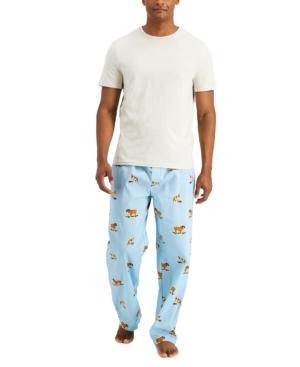 Men's Skating Bulldog Pajama Set