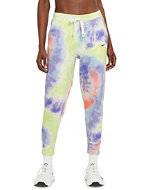 Women's Tie-Dyed French Terry Jogger Pants