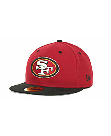 New Era San Francisco 49ers 2 Tone 59FIFTY Fitted Cap
