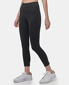 Women's Cotton-Spandex with Side Pockets Legging