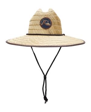 Quiksilver Hats MEN'S STRAW LIFEGURAD DREDGED HAT