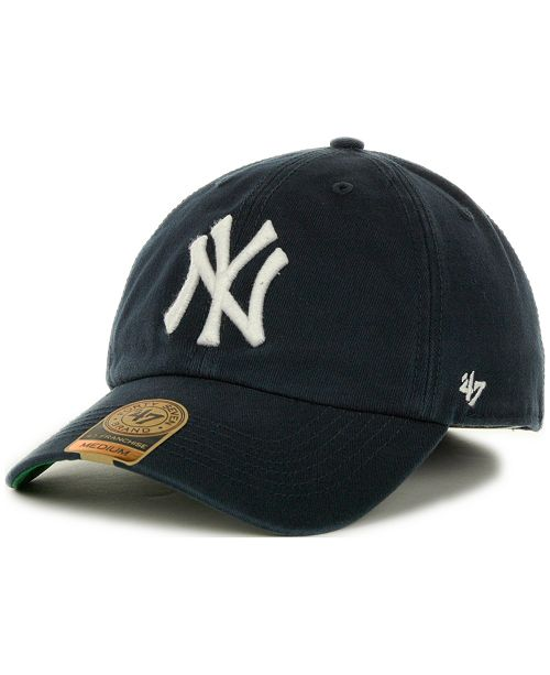47 Brand New York Yankees Franchise Cap - Sports Fan Shop By Lids ... d78d863d14ec