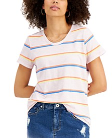 Cotton Striped Pocket T-Shirt, Created for Macy's