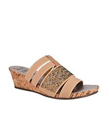 Emberly Wedge Sandal