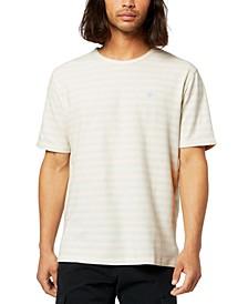 Men's Pique Striped T-Shirt