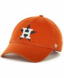 '47 Brand Houston Astros  Clean Up Hat