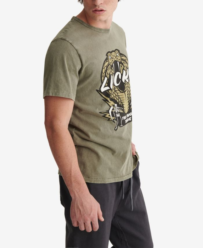 Lucky Brand Men's Snake Tee & Reviews - T-Shirts - Men - Macy's