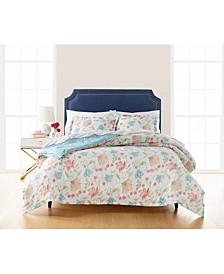 Exotic Escape 3 PC Full Queen Comforter Set