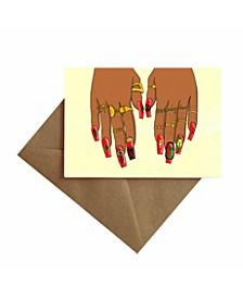 Birthday Nails Card