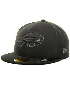 New Era Buffalo Bills Black Gray 59FIFTY Cap