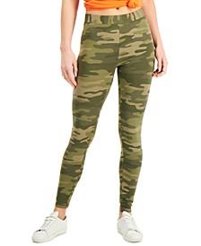 Oceana Camo-Print Leggings, Created for Macy's