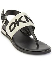 Women's Amber T-Strap Slingback Sandals