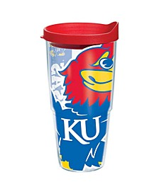 Kansas Jayhawks 24 oz. Colossal Wrap Tumbler