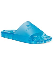 Women's Ulyssa Translucent Pool Slides