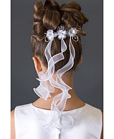 Triple Flower Veil Comb