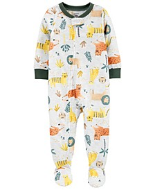 Baby Boys Loose Fit Footie Pajamas