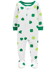 Baby Boy or Girl St. Patrick's Day Snug Fit Cotton Pajamas
