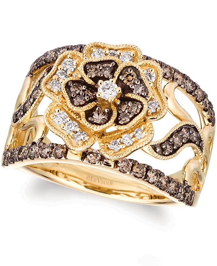 Le Vian ® Chocolate Layer Cake® Diamond Statement Ring (1