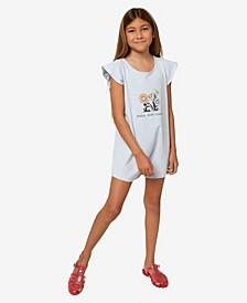 Big Girls Marlie Short Sleeve Romper