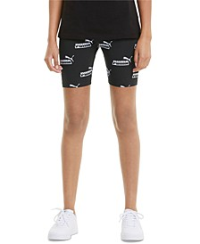 Women's Amplified Printed Bike Shorts