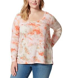 Trendy Plus Size Melinda Textured Top