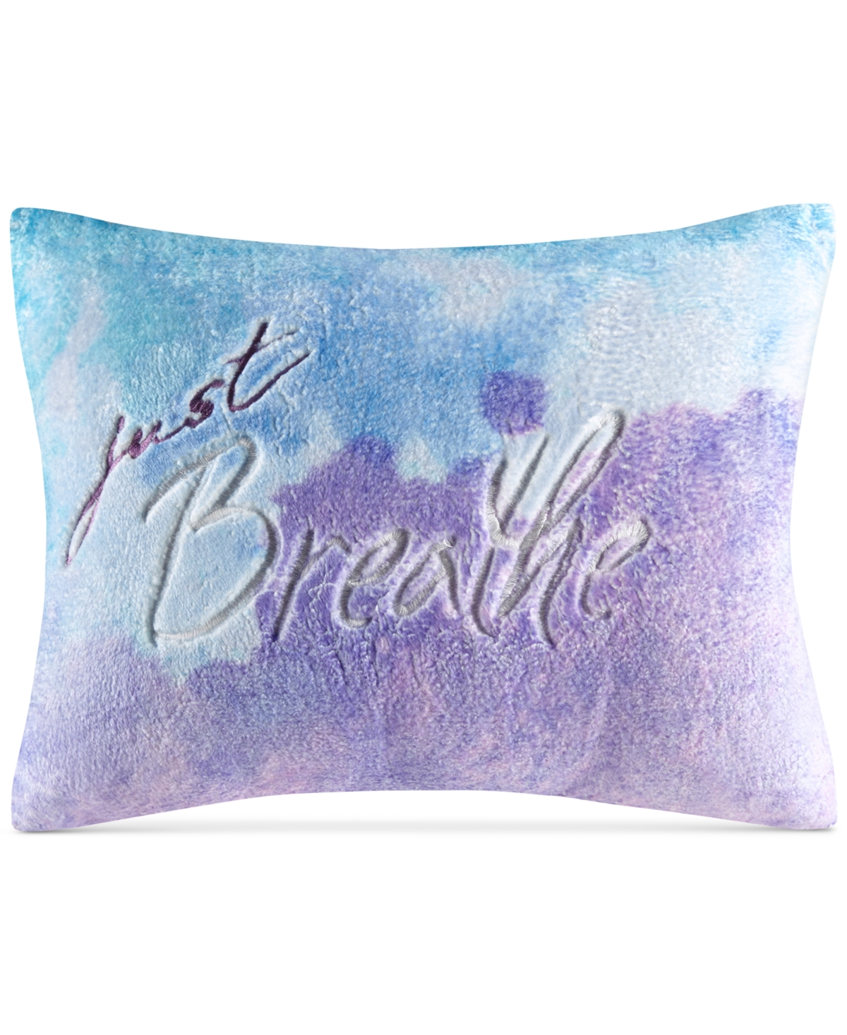 Closeout! Whim by Martha Stewart Collection Just Breathe Embroidered 12