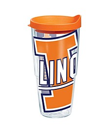 Illinois Fighting Illini 24 oz. Colossal Wrap Tumbler