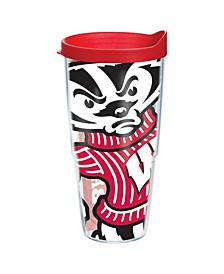 Wisconsin Badgers 24 oz. Colossal Wrap Tumbler