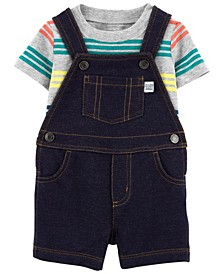 Baby Boys Tee and Shortall Set, 2 Pieces