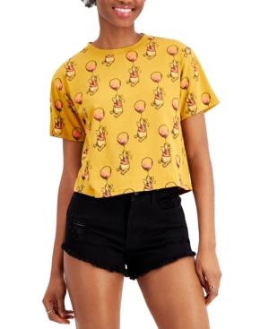 Juniors' Winnie The Pooh-Print T-Shirt