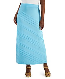 Petite Solid Knit Maxi Skirt, Created for Macy's