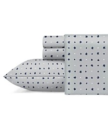 Star Grid 3 Piece Twin Sheet Set