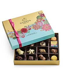 Spring Assorted Chocolate Gift Box, 16 Pieces