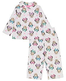 Minnie Mouse Toddler Girl Coat 2 Piece Pajama Set