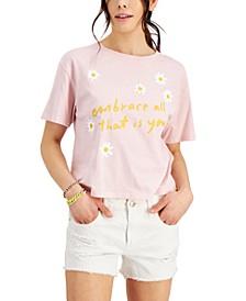 Juniors' Embrace You Graphic-Print T-Shirt