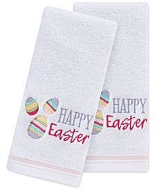"Happy Egg 2-Pc. 11"" x 18"" Fingertip Towel Set, Created for Macy's"