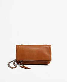Women's Chain Leather Crossbody Bag