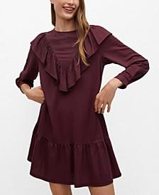 Women's Flowy Ruffled Dress