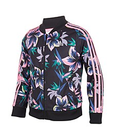 Big Girls Print Tricot Jacket