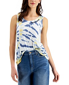 Petite Graphic Tank, Created for Macy's