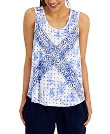 Printed Tank Top, Created for Macy's