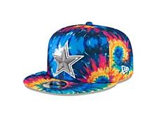 Dallas Cowboys On-field Crucial Catch 9FIFTY Cap