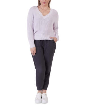 Black Tape Sweaters PLUS SIZE TEXTURED SWEATER
