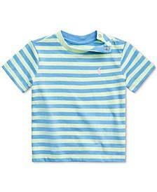 Ralph Lauren Baby Boys Striped Cotton T-Shirt
