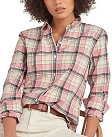 Newbury Cotton Plaid Shirt