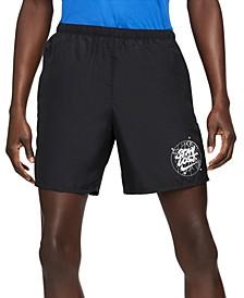 Men's Challenger Wild Run Brief-Lined Running Shorts