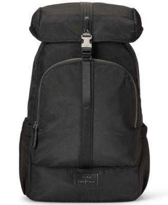 폴로 랄프로렌 Polo Ralph Lauren Mens Leather-Trim Backpack