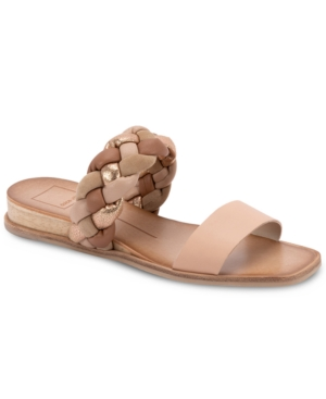 Dolce Vita PERSEY BRAIDED SLIDE SANDALS WOMEN'S SHOES